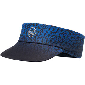 Buff Pack Run Visor R-Equilateral Cape Blue